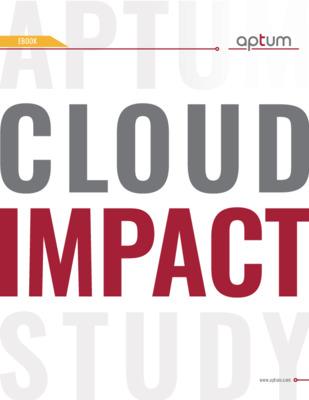 Cloud Impact Study - A Bright Forecast on Cloud - Optimization
