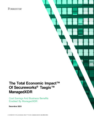 Forrester Consulting - The Total Economic Impact™ of Secureworks Taegis™ ManagedXDR