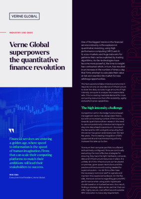 Quantitative Finance Case Study