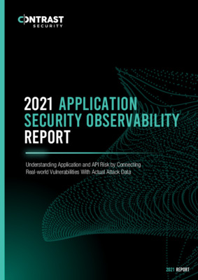 2021 Application Security Observability Report Final
