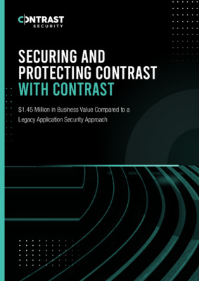 Securing and Protecting Contrast with Contrast Report Final