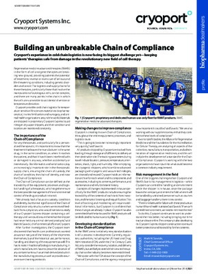 Building an unbreakable Chain of Compliance