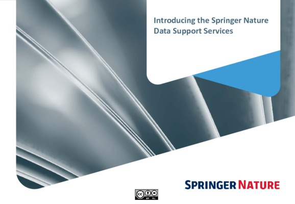 Springer Nature Data Support Services