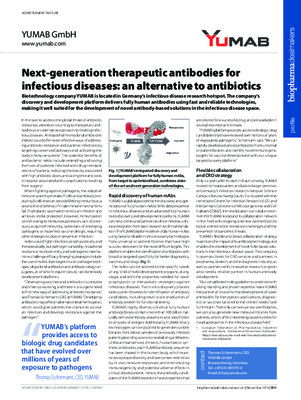 Next-generation therapeutic antibodies for infectious diseases: an alternative to antibiotics