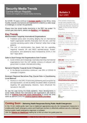 Bulletin 3: Security Media Trends CAR