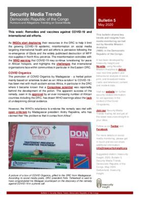 Bulletin 5   Security Media Trends DRC
