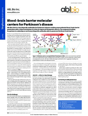 Blood–brain barrier molecular carriers for Parkinson's disease