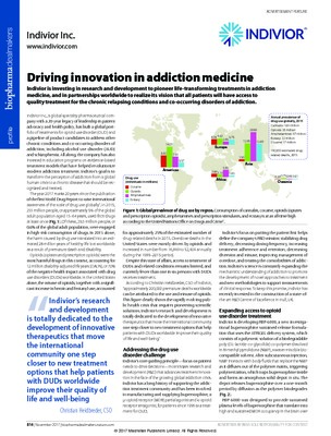 Driving innovation in addiction medicine
