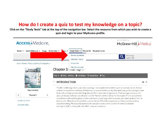 How do I create a quiz to test my knowledge on a topic?