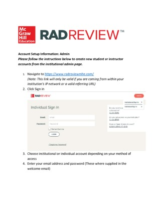 RadReview Admin Guide - Complete