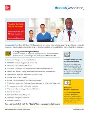AccessMedicine Flyer