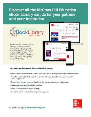 eBook Library Overview Flyer