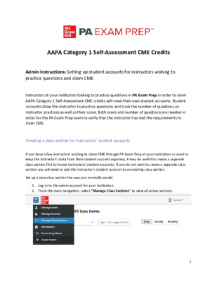 CME - Admin instructions on setting up accounts