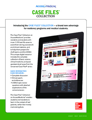 Flyer - Case Files Collection