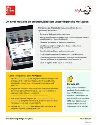 MyAccess (Espanol)