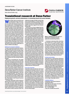 Translational research at Dana-Farber