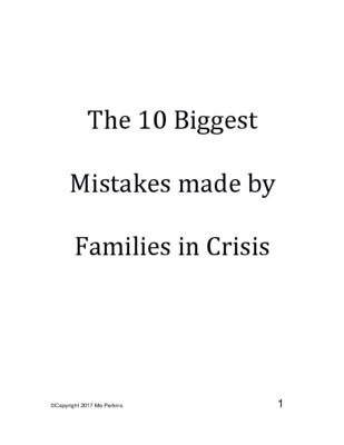 Report 10 Big Mistakes made by Families in Crisis.pdf