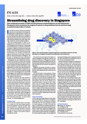 Streamlining drug discovery in Singapore