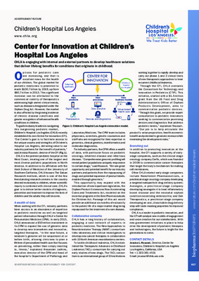 Center for Innovation at Children's Hospital Los Angeles