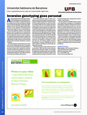 Inversion genotyping goes personal