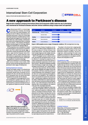 A new approach to Parkinson's disease