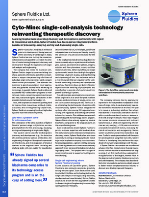 Cyto-Mine: single-cell-analysis technology reinventing therapeutic discovery