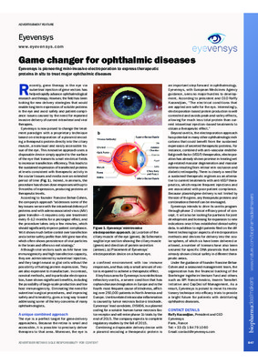 Game changer for ophthalmic diseases