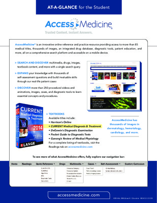 AccessMedicine - Student At-a-Glance Guide