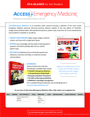 AccessEmergencyMedicine - Student At-a-Glance Guide
