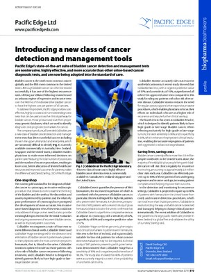 Introducing a new class of cancer detection and management tools - Pacific Edge Sept 2018