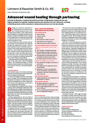 Advanced wound healing through partnering