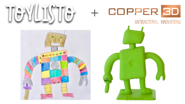 3D printed toys for immunosuppressed children: antimicrobial 'art'