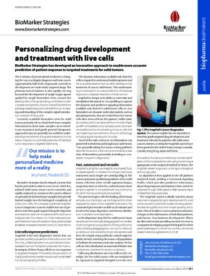 Personalizing drug development and treatment with live cells