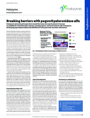 Breaking barriers with pegvorhyaluronidase alfa