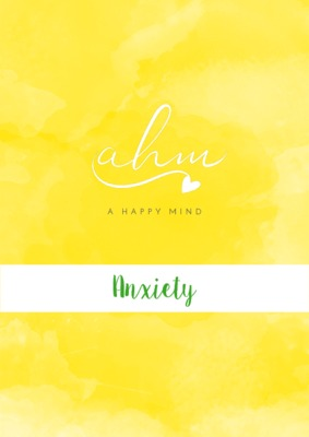 Anxiety - my free workbook to help others one their journey with anxiety