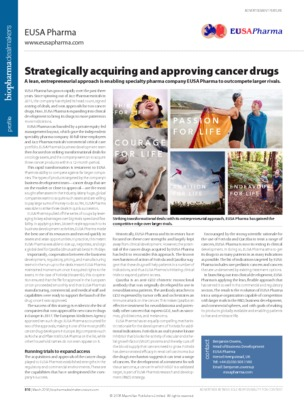 Strategically acquiring and approving cancer drugs