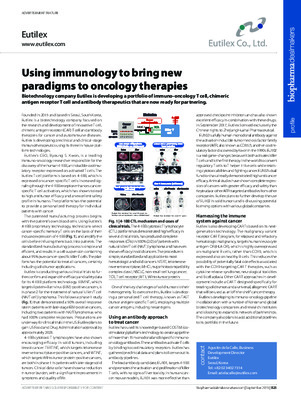 Using immunology to bring new paradigms to oncology therapies