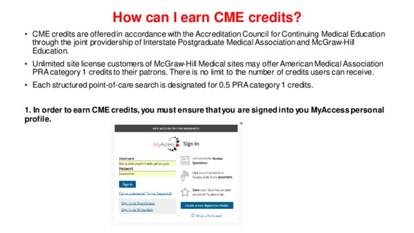 How can I earn CME credits?
