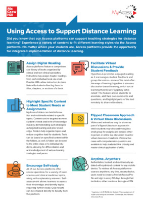 Using Access to Support Distance_Learning