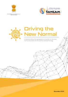 Survey: Attitude of Public in India to Science & Technology in the New Normal